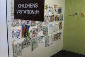 Children's visitation center